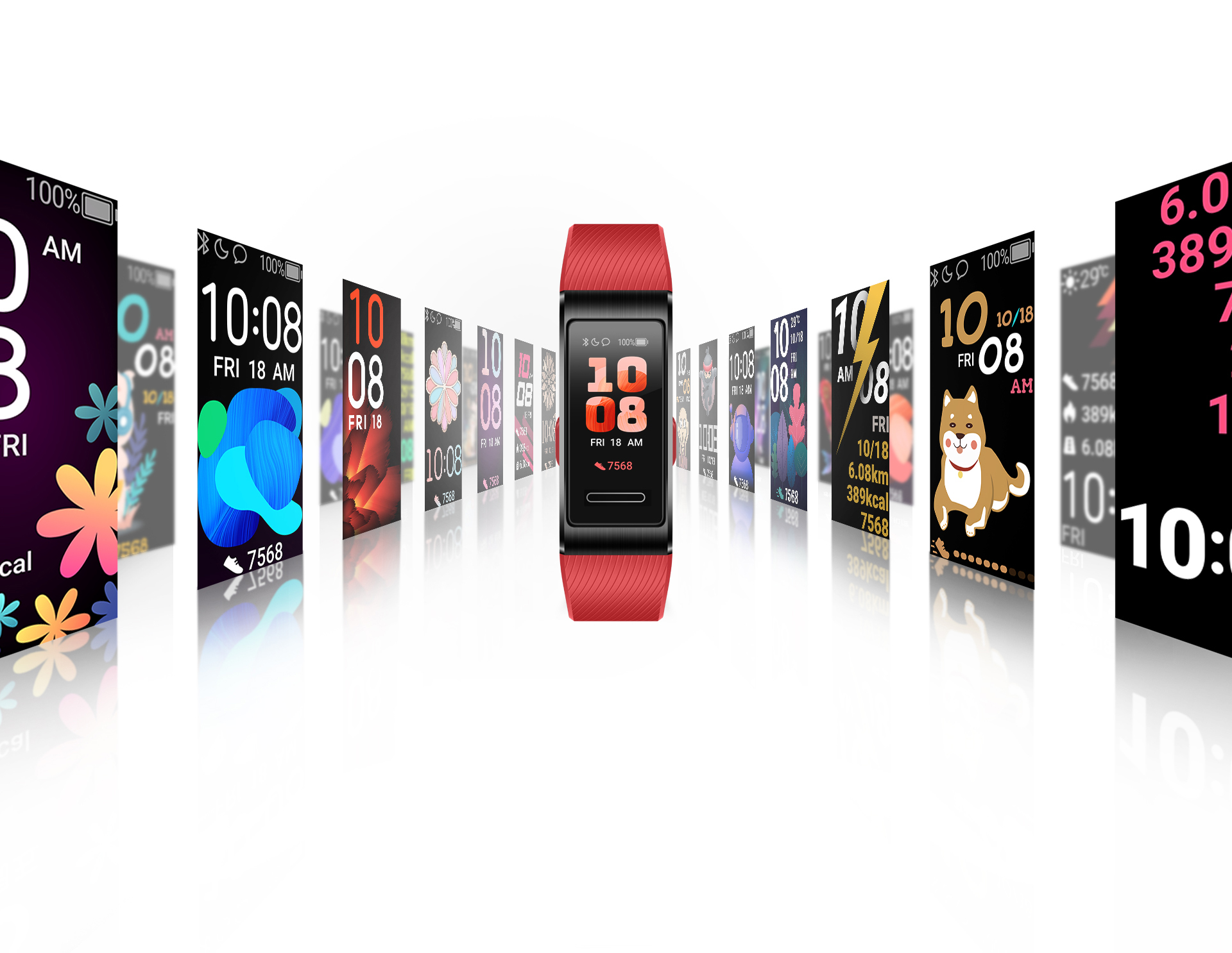 HUAWEI Band 4 Pro Watch Faces Store