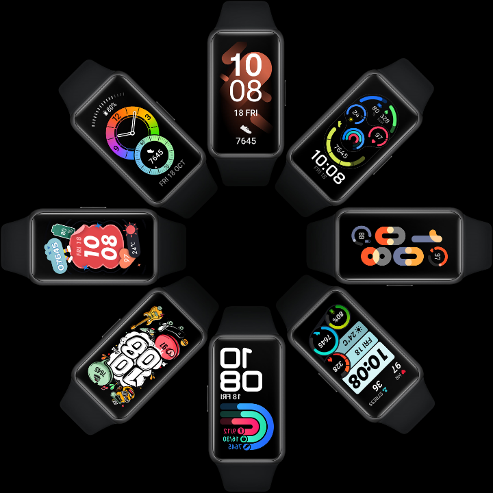 HUAWEI Band 6 watch face