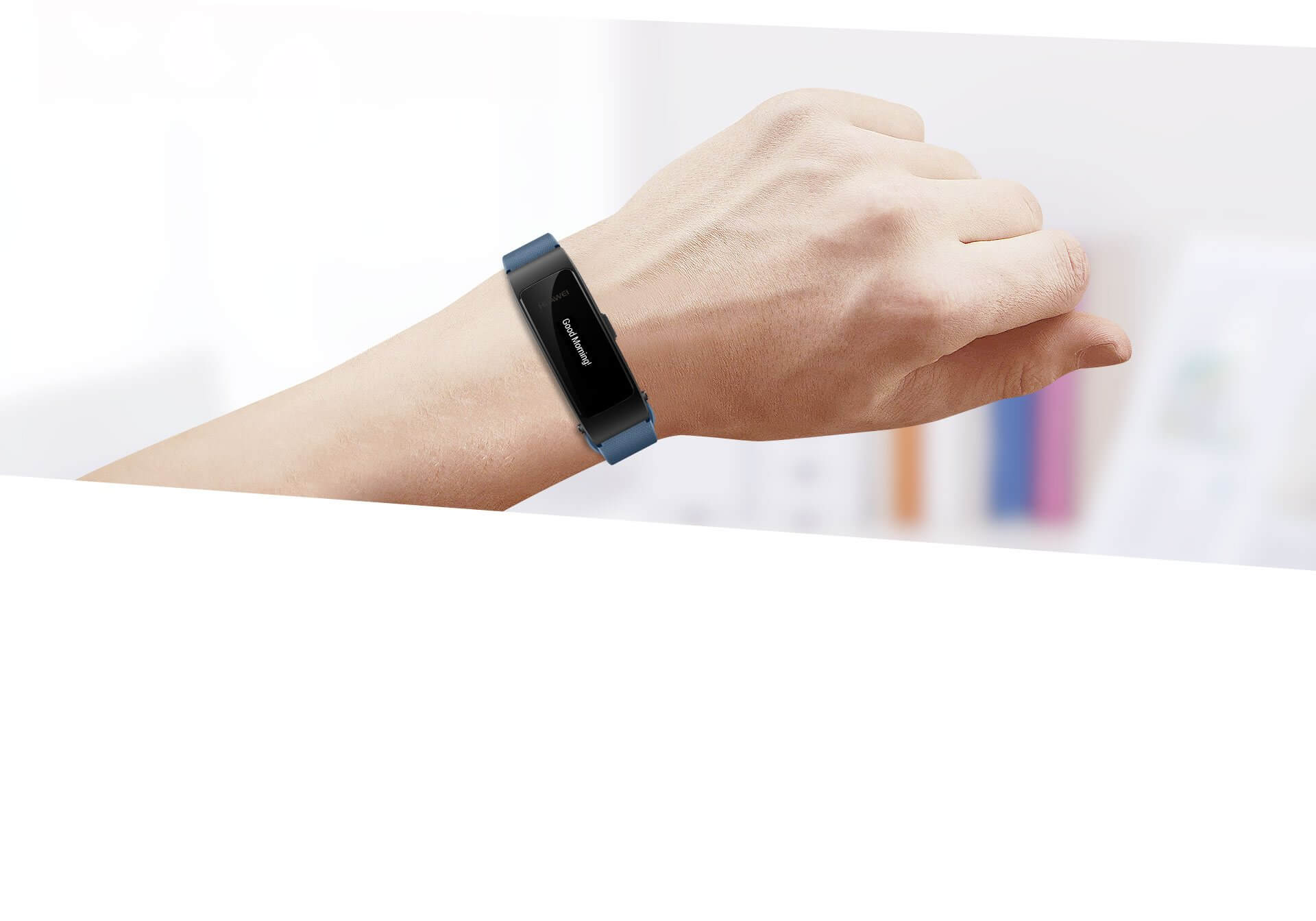 huawei talkband b3 lite notification display
