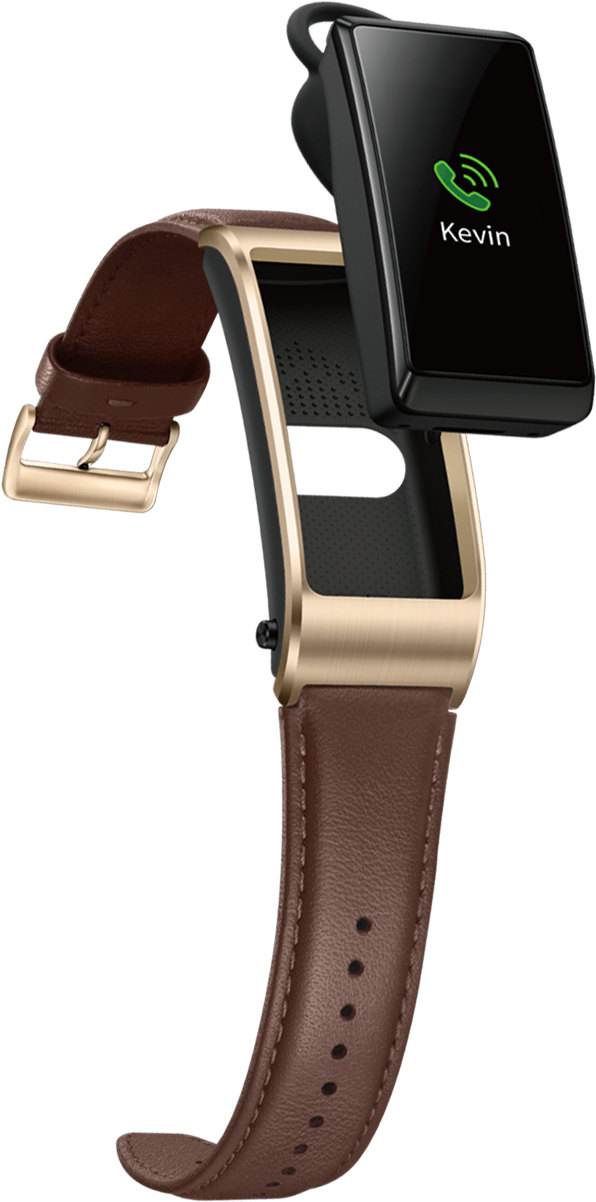 HUAWEI Talkband B5 with brown color