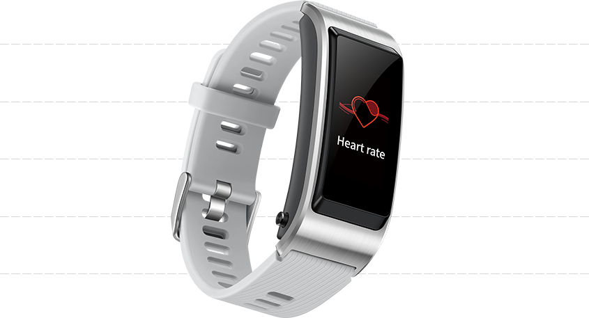 HUAWEI Talkband B5 tracking heart rate