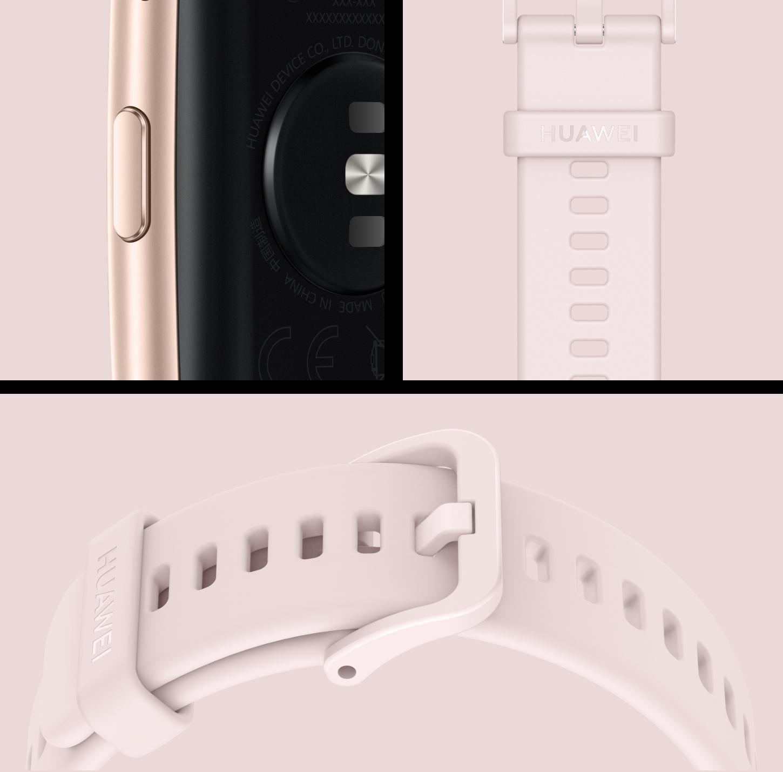 diseño fit-id del reloj huawei