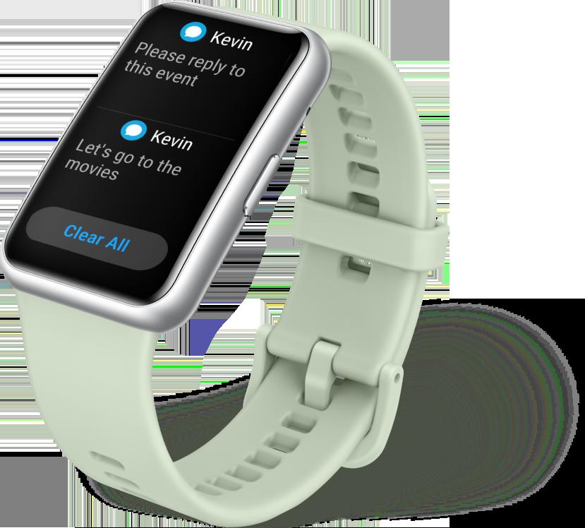 huawei watch fit-message reminder