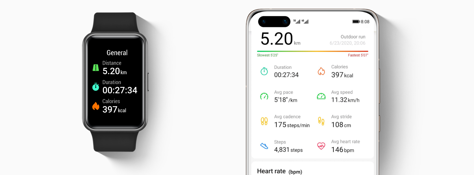 huawei watch fit-smart workout recognition