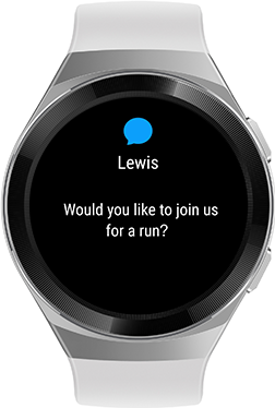 HUAWEI WATCH GT 2e Life Assistant blanco