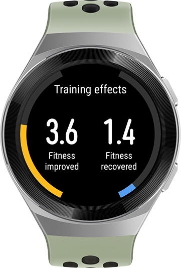 HUAWEI WATCH GT 2e professional workout data Aerobic Anaerobic