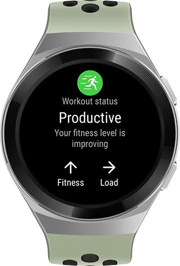 HUAWEI WATCH GT 2e professional workout data status
