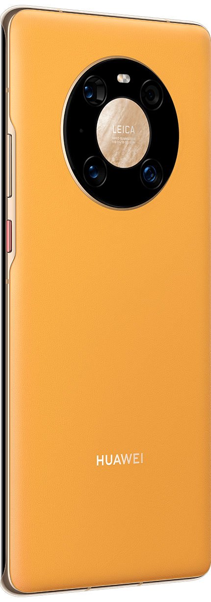 HUAWEI Mate 40 Pro Sunflower Yellow Front