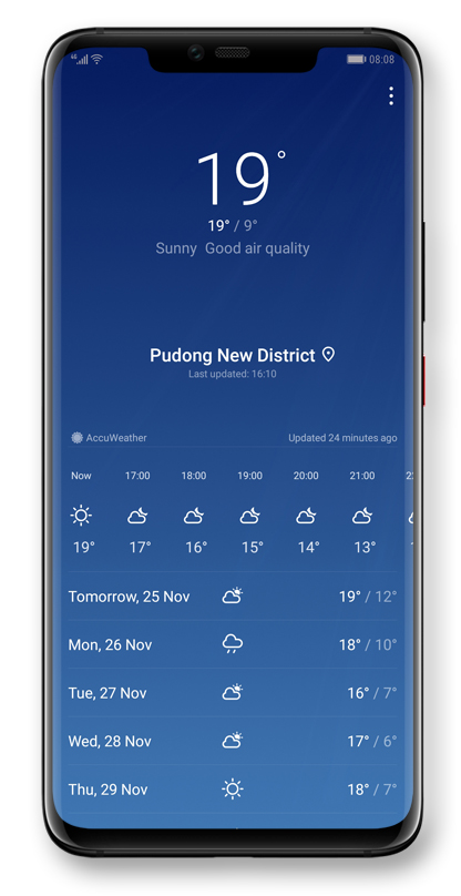 HUAWEI Weather