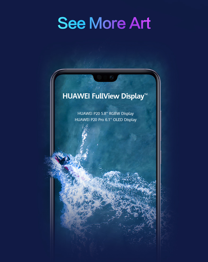 Brief introduction of HUAWEI P20 Series