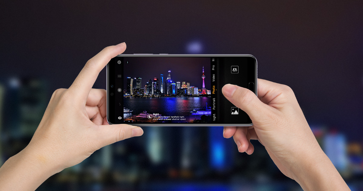 How to use Handheld Night Shoot on HUAWEI P20 Series