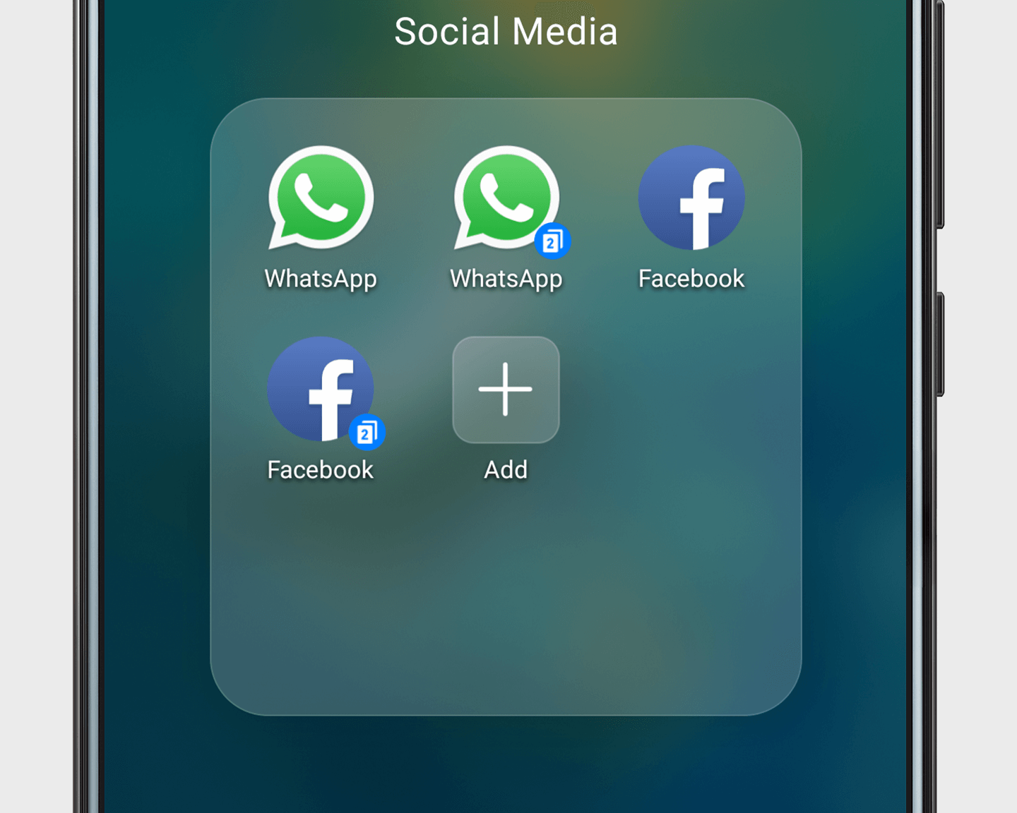 One App, Two Accounts