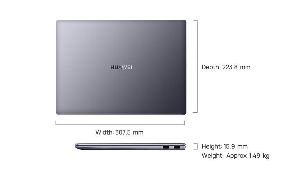 HUAWEI MateBook 14 2020 AMD Specifications – HUAWEI Global