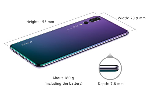 HUAWEI P20 Pro smartphone Specifications | HUAWEI Global