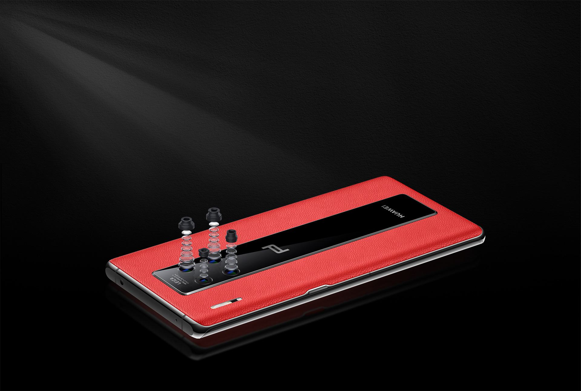 PORSCHE DESIGN HUAWEI Mate 30 RS Leica Quad Camera