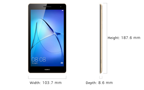 HUAWEI MediaPad T3 7 inch 3G tablet specifications | HUAWEI