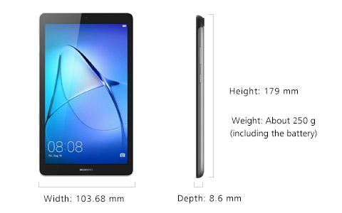 HUAWEI MediaPad T3 7 inch tablet specifications | HUAWEI Global