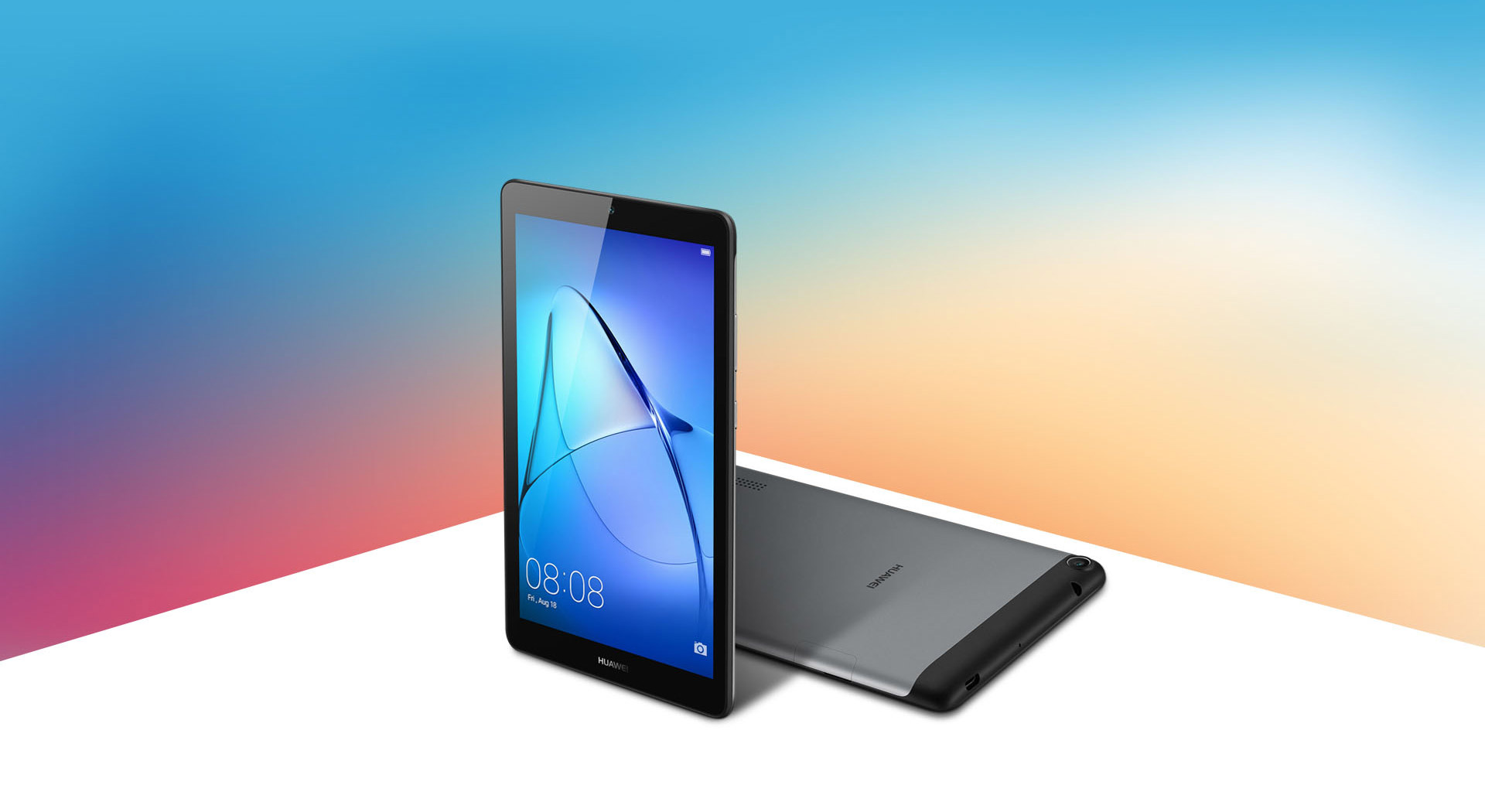 Huawei MediaPad T3 of 7 and 8 Inches: Two Tablets of Range Media with Aluminum Body