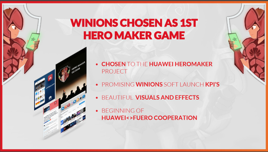 huawei hero maker project supporting developers to grow their brands and business globally