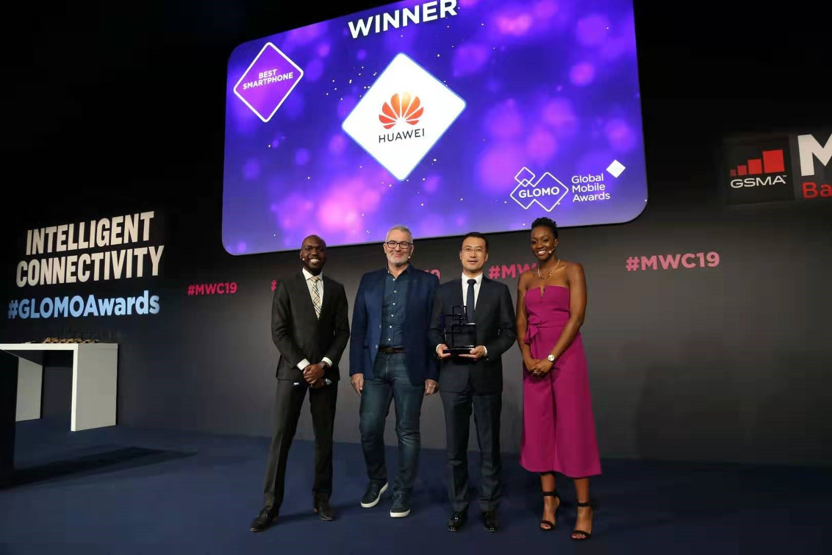 "HUAWEI Mate 20 Pro Wins it's first ""Best Smartphone"" at MWC Barcelona 2019"