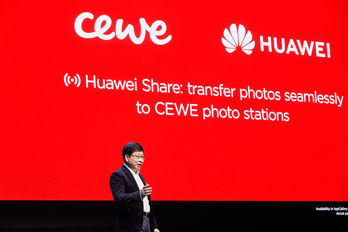Huawei Share Partners with CEWE to Explore New Frontiers in Printing
