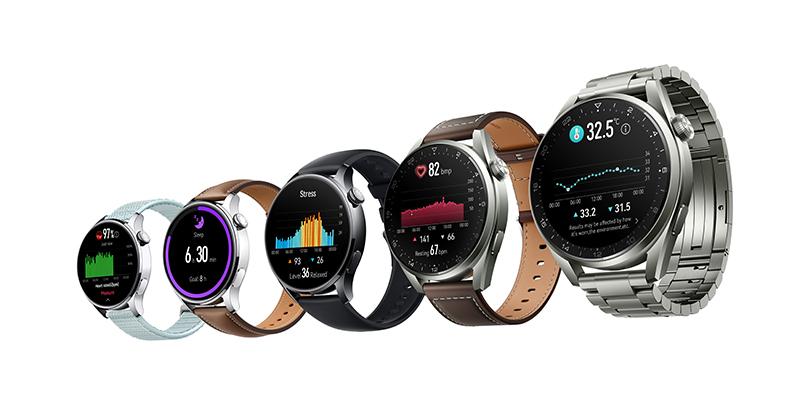 華為發布HUAWEI WATCH 3系列,搭載鴻蒙操作系統2的全新旗艦智能手錶系列