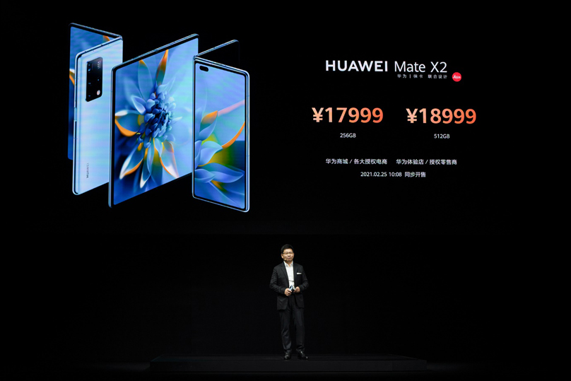 Imagine What Unfolds: Huawei announces HUAWEI Mate X2
