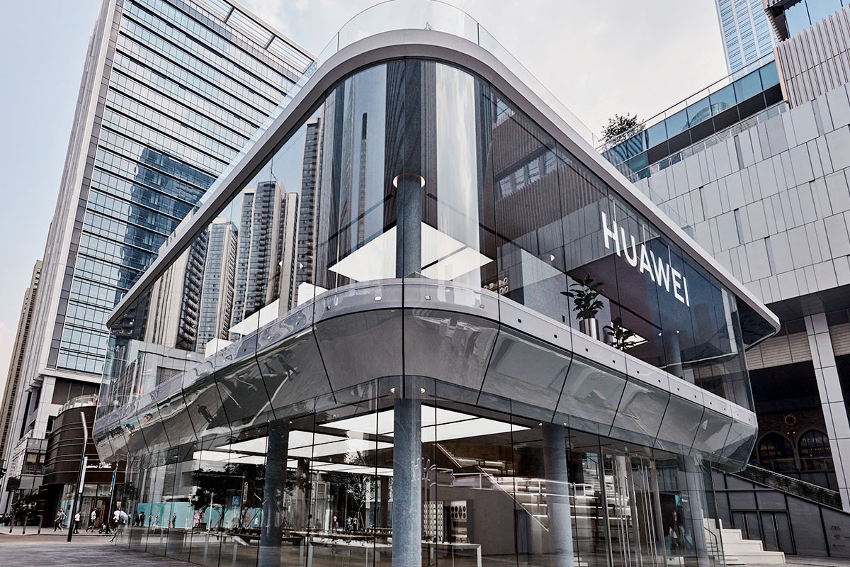 Huawei's First Global Flagship Store Opened Saturday in Shenzhen