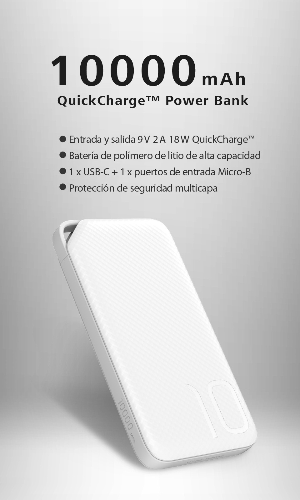 HUAWEI 10000mAh QuickCharge™ Power Bank