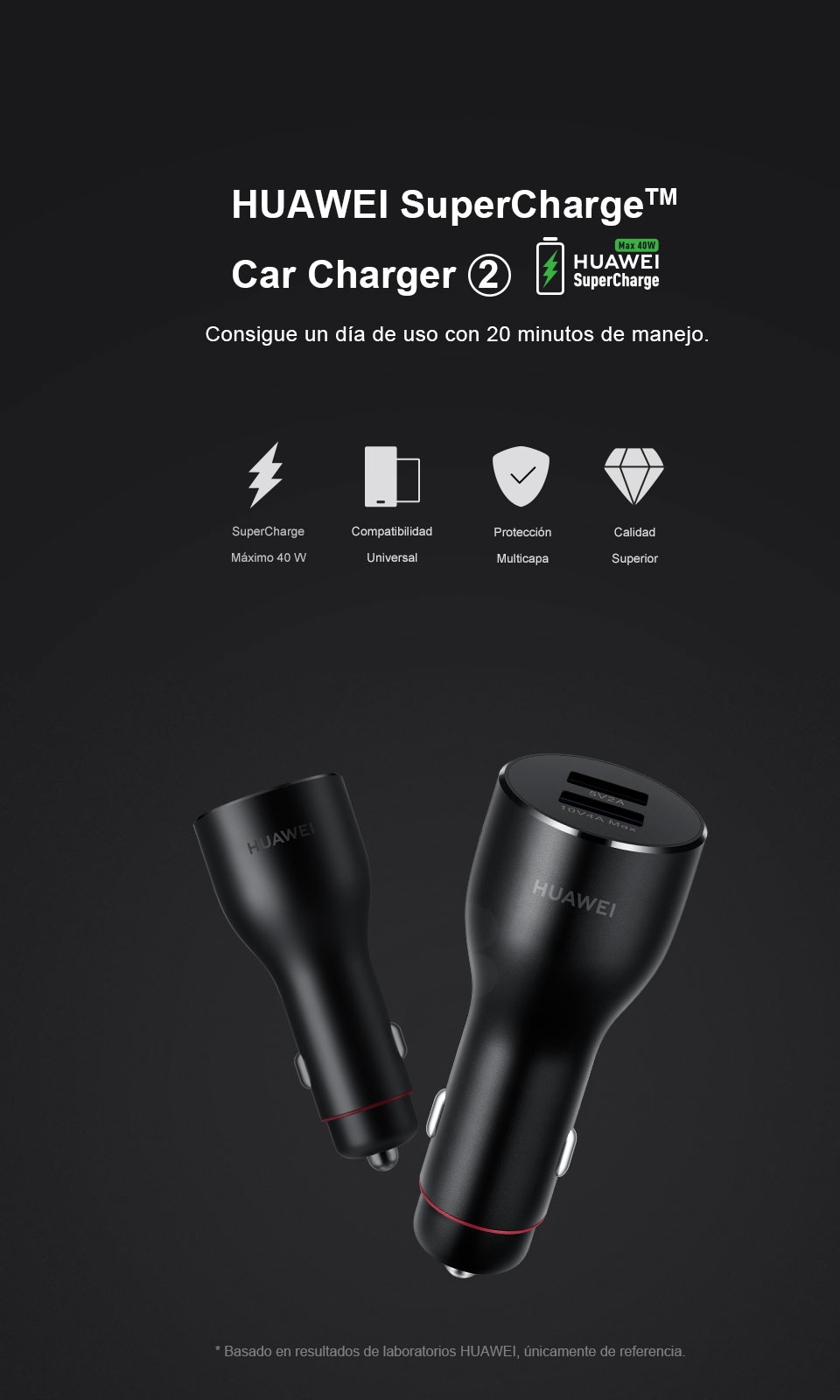 HUAWEI SuperCharge™ Car Charger 2