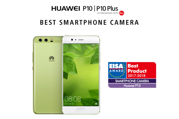 HUAWEI Wins New Plaudits from EISA with Awards for the HUAWEI P10 and HUAWEI WATCH 2