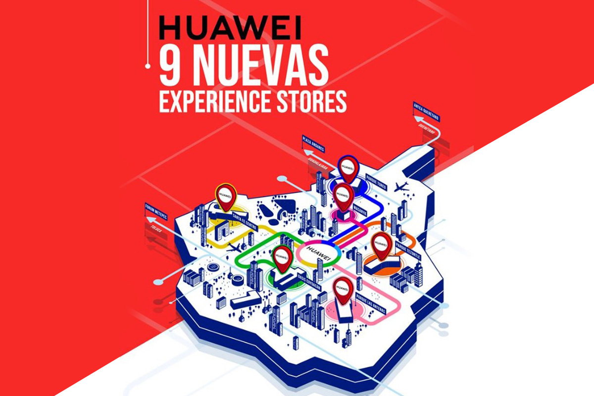 Huawei abre 9 nuevas Huawei Experience Stores