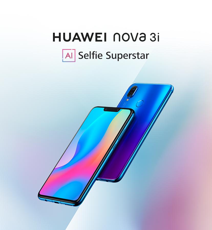 HUAWEI nova3i Smartphone | AI Selfie Superstar | HUAWEI Kuwait