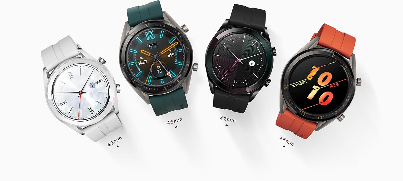 HUAWEI WATCH GT, long battery-life, built-in GPS smartwatch
