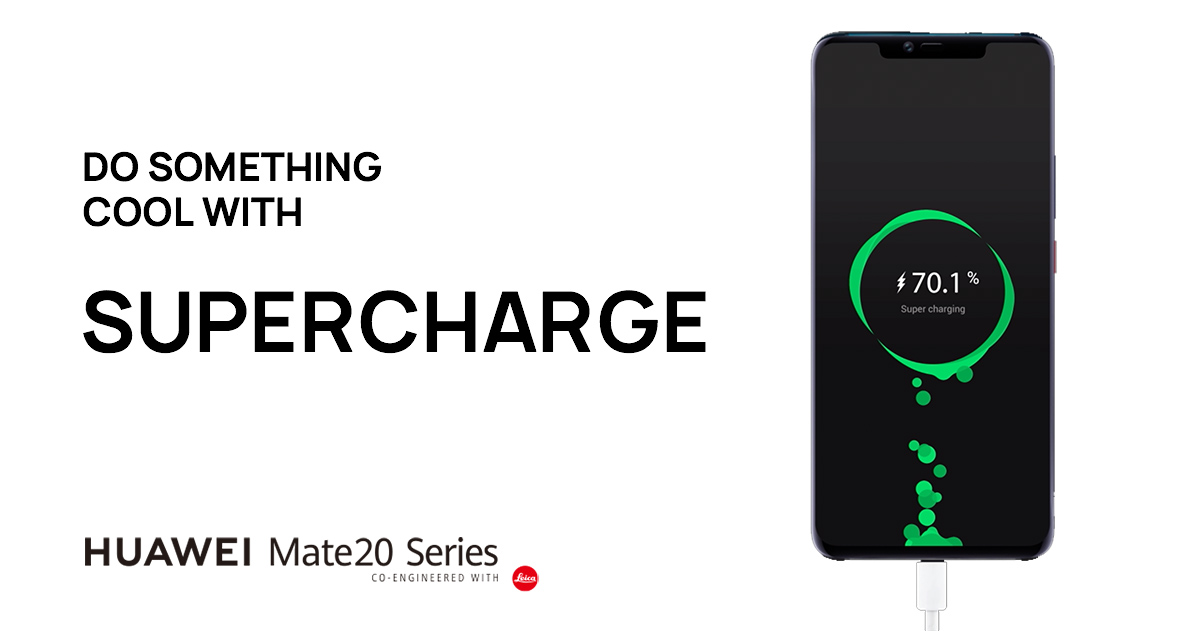 How to charge 58% in 30 mins | HUAWEI Mate 20