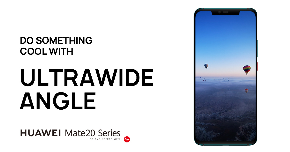 How to shoot an Ultra Wide Angle | HUAWEI Mate 20 Series