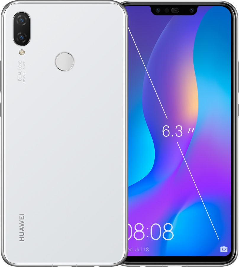 HUAWEI nova 3i white color