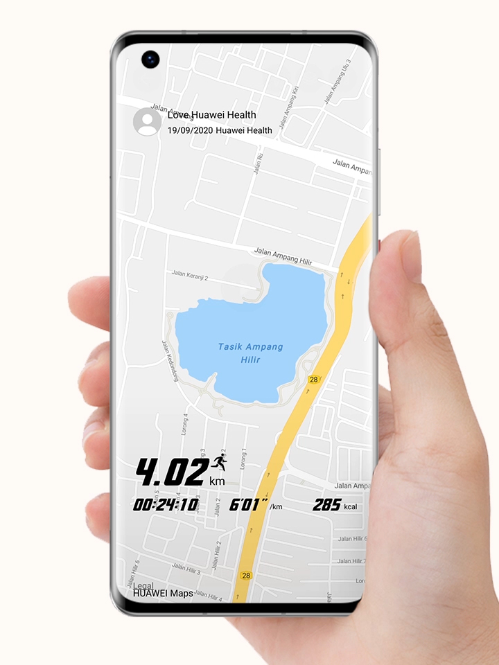 HUAWEI Health Dynamic Tracking