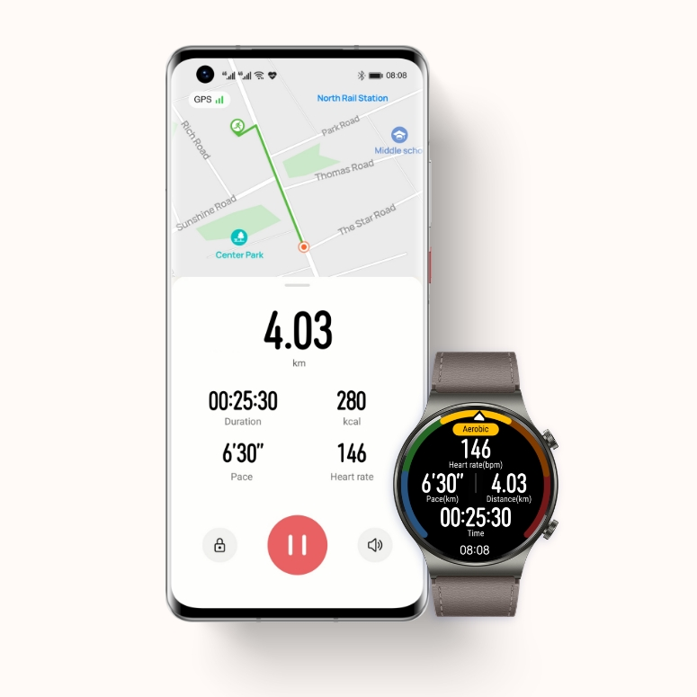HUAWEI Health Running Guide