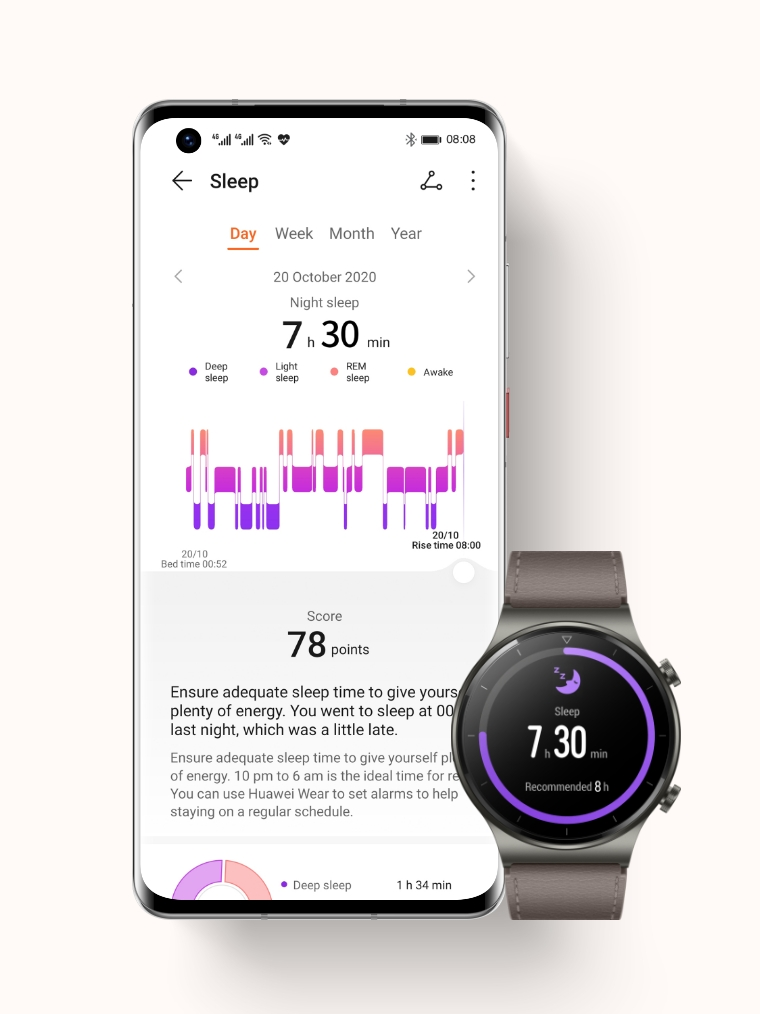 HUAWEI Health Sleep Monitoring