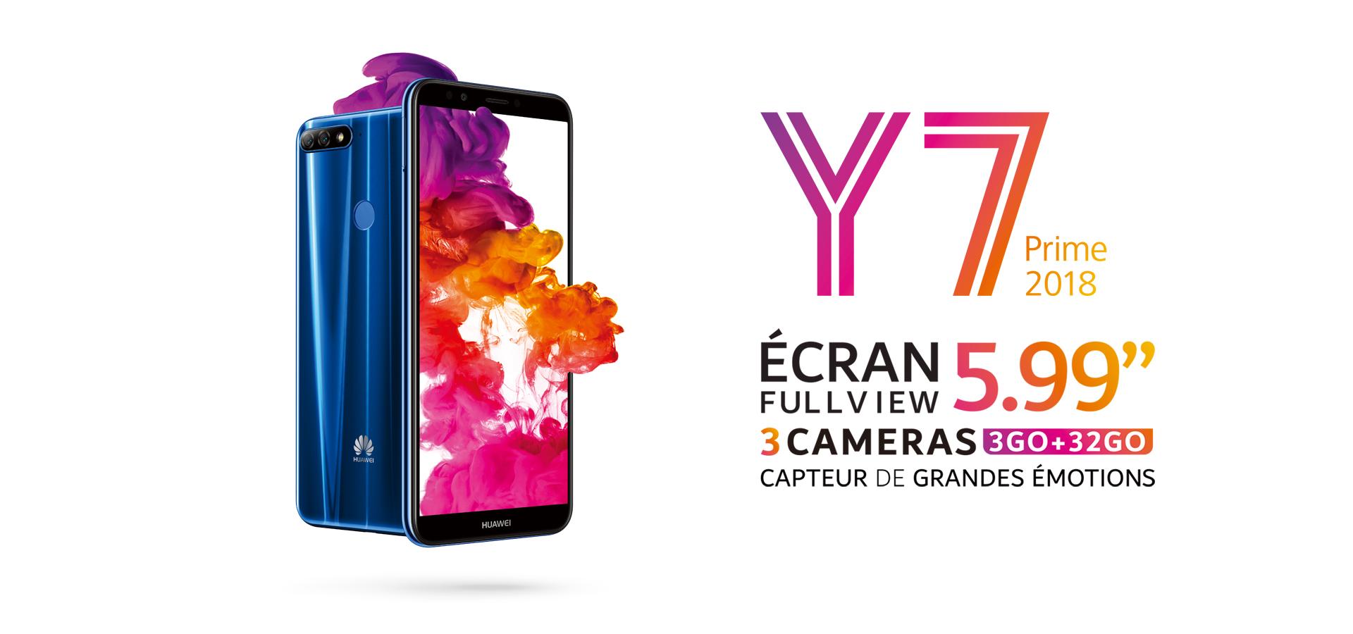 Huawei Y7 Prime 2018 Telephone Android Huawei Algeria