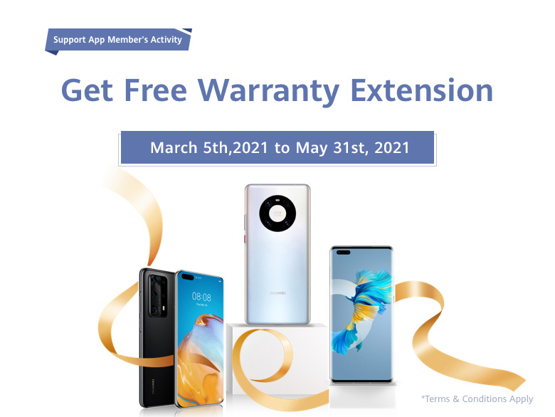 Don't miss the free offer for all of Huawei users