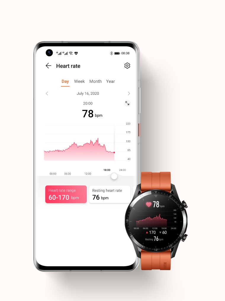HUAWEI Health Heart Rate Monitoring
