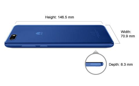 Huawei Y5 Lite Dual Sim (1GB RAM, 16GB ROM Black)