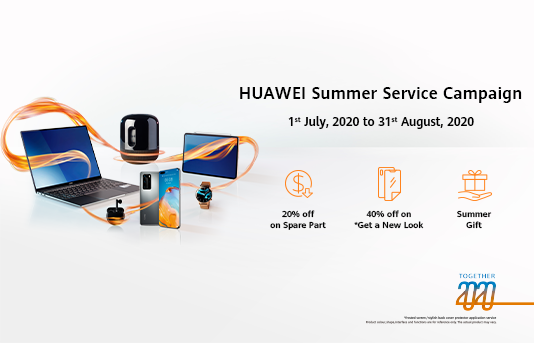 HUAWEI Summer Service Campaign