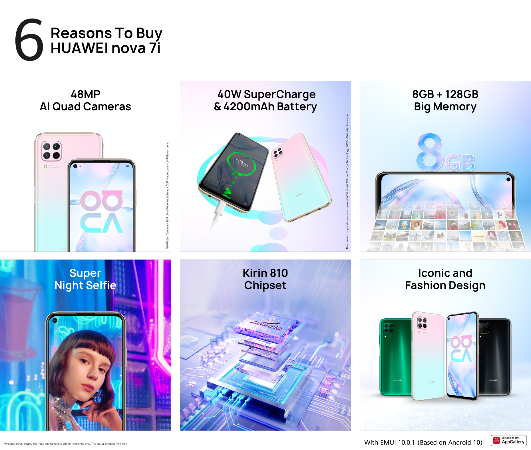 HUAWEI nova 7i Reasons To Buy