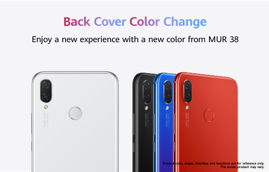 Back Cover Color Change