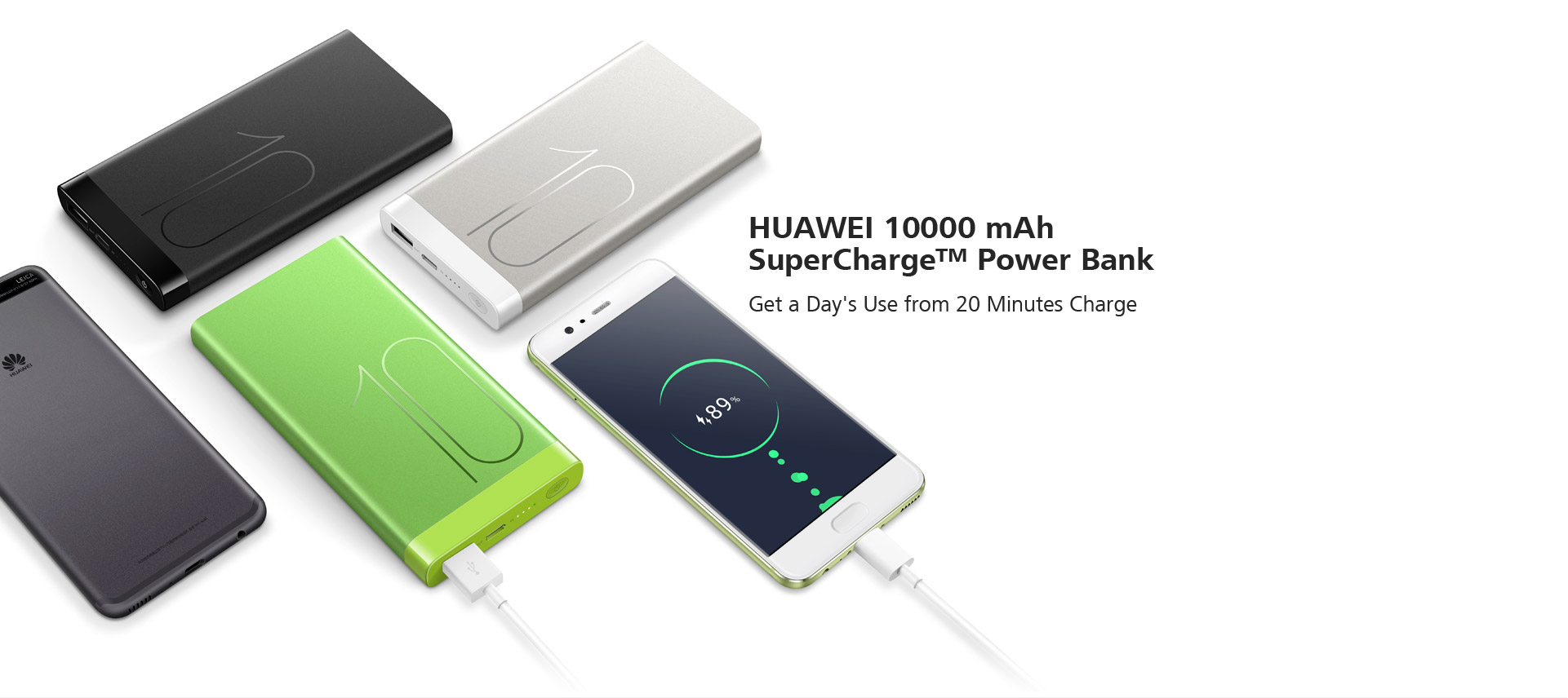 HUAWEI 10000 mAh SuperCharge™ Power Bank