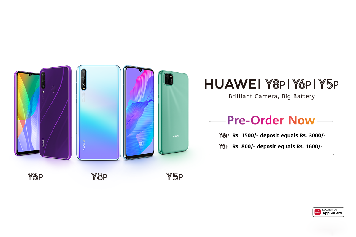 Two New Entrants of Huawei Y Series HUAWEI Y6p and HUAWEI Y8p Open for Pre-orders