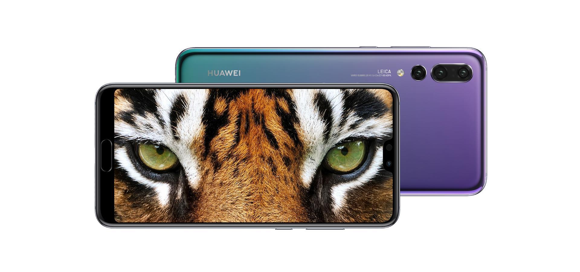 HUAWEI P20 Pro Smartphone, Leica Triple Camera, FullView Display